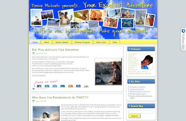 Denise Michaels Excellent Adventure