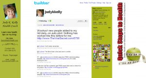 Judy Kelly's Twitter Background