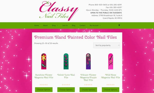 Classy Nail Files